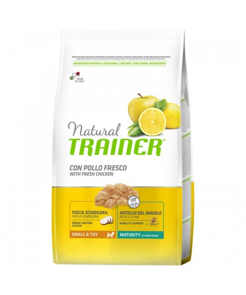 Trainer Natural  Small & Toy Maturity Pollo Fresco 2kg